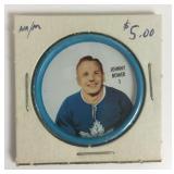 Johnny Bower Hockey Coin