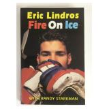 Eric Lindros Autographed Fire On Ice Book