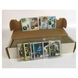 Box Of 1983 Baseball Cards