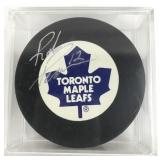 Signed Rob Pearson Puck