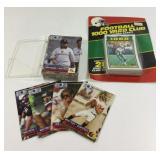 1991 Deck Of Football Cards & 28 1000 Yard Club