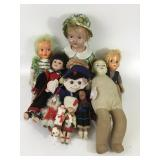 Lovely Collection Of Vintage Dolls