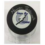 Manon Rheaume Autographed Tampa Bay Lightning Puck
