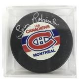 Autographed Larry Robinson Puck