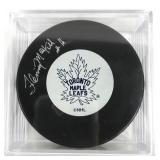 Signed Fleming MacKell Puck