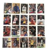 20 Assorted 1990s NBA Trading Cards