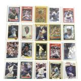 20 Assorted Donruss MLB Trading Cards
