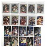 20 1990s Assorted NBA Trading Cards