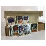 Box Of 1991 Baseball Cards