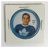 Bobby Baun Hockey Coin