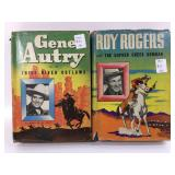 1944-45 Roy Rogers & Gene Autry Whitman Published
