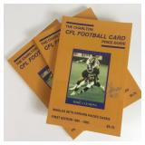 Autographed CFL Football Card Price Guide
