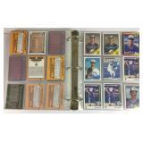 Binder Full Of Baseball Cards