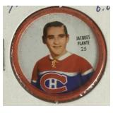 Jacques Plante Hockey Coin