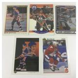 Lot Of 5 Mark Messier Cards