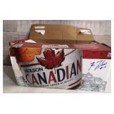 Autographed Guy Lafleur Beer Case