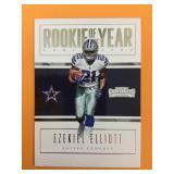 2016 Ezekiel Elliot Of The Dallas Cowboys Rookie