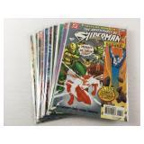 10 Superman Assorted Comic Books