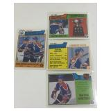 4 Wayne Gretzky Cards!  1983 OPC Scoring, Goal &