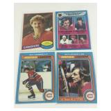 Lot Of 4 Montreal Canadiens OPC Cards