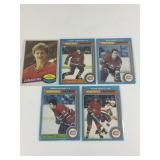 Lot Of 5 Montreal Canadiens OPC Cards