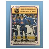 1981 O-Pee-Chee Record Breaker Peter Stastny Card