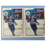1983 O-Pee-Chee 2 Glenn Anderson Player Cards