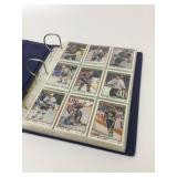 1990-92 Collection Of NHL Player Cards In Binder