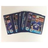 1986 Toronto Blue Jays Cards Collection