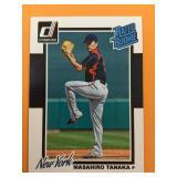 2014 Masahiro Tanaka Donruss Rookie Card