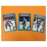 1979 Lot Of 3 Toronto Maple Leafs O-Pee-Chee Cards