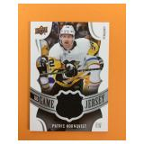 2018 Patric Hornqvist UD Game Jersey Card