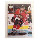 2016 UD NHL Nick Schmaltz Young Guns Card