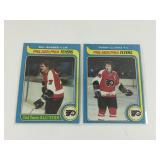 2 Philadelphia Flyers OPC Cards From 1979.