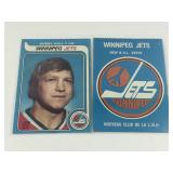 2 Winnipeg Jets OPC Cards From 1979