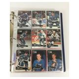 Large Collection Of 1990-91 NHL Player Cards In