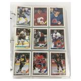 1991 Large Collection Of NHL Player Cards In