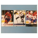 Three 2016 Young Guns NHL Player Cards