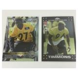 2 Rookie Cards Of Pittsburgh Steelers