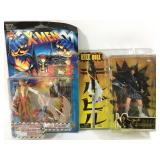 X-Men Lady Deathstrike & Kill Bill Go-Go Figures