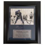 NHL Wendel Clark Framed & Autographed Photo