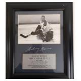 NHL Johnny Bower Autographed Framed Photo