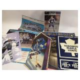 Collection of NHL Maple Leafs Posters & More