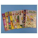 10 Assorted Richie Rich Comic Books