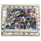 Framed, Numbered & Signed NHL Canadian Greats