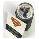 75th Anniversary Silver Superman Coin
