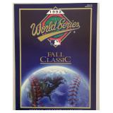 1992 World Series Game Program