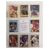 8 1992 OPC NHL Insert Cards In Sleeve