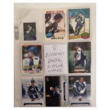 8 NHL Darryl Sittler Player Cards