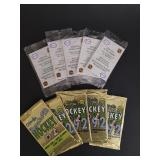 10 Factory Sealed Packs Of Hockey Cards